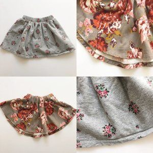 Gap + Old Navy Floral Sweatshirt Skirts